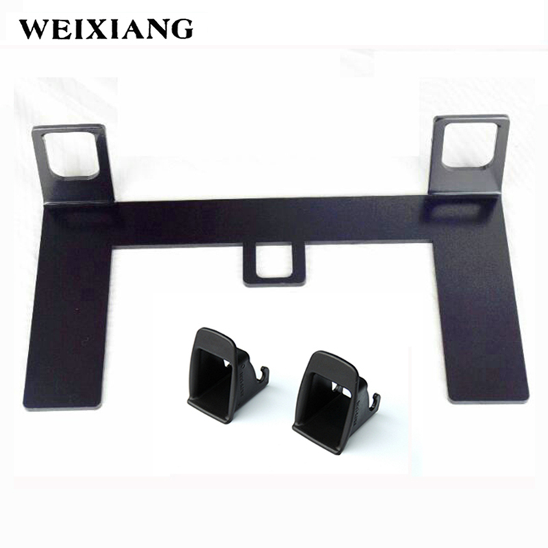 Universal Latch ISOFIX Belt Connector Point Seat Belt Interfaces Guide Bracket For Child Safety Seat Fixation
