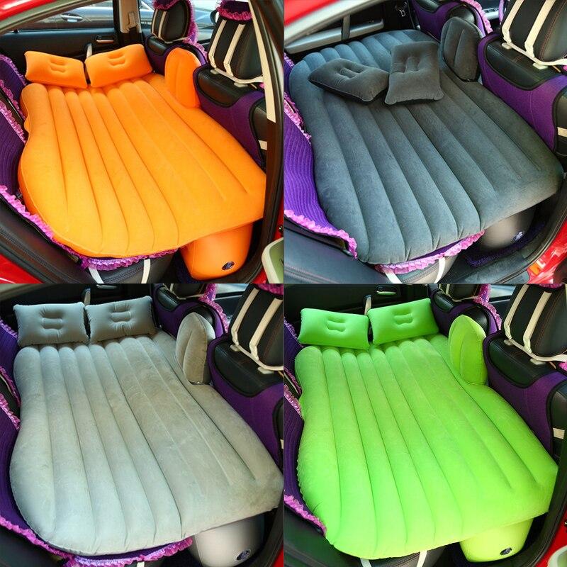 Universal Air Inflatable Mattress Back Seat Car Travel Bed Outdoor Multi Functional Camping Mat Mattress Cushion