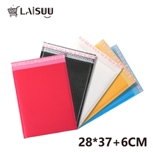 10pcs 11*14.5inch/28*37cm Poly Bubble Mailers Self Seal Red/Black/Yellow/Blue/White Padded Envelopes Poly Bubble Mailing Bags nowodvorski bubble black red i kinkiet b