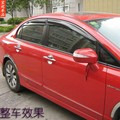 Estilo de Mugen Visera De Sol Ventana Para Honda Civic 2006 2007 2008 2009 2010 2011