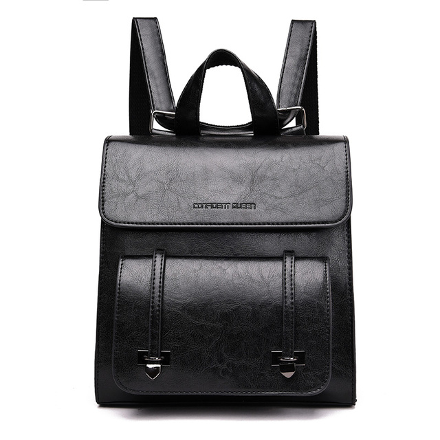 2018 fashion Women Backpacks Women's Leather Backpacks Female school Shoulder bags for teenage girls backpack Fashion Backpacks