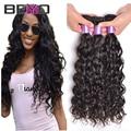 Brazilian Virgin Hair Water Wave 3 Bundles Wet And Wavy Brazilian Hair Weave Bundles Curly Human Hair Natural Hair Extensions