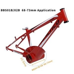 Image 4 - Bafang BBS02B 48V 500W Mitte Antrieb Motor Electric Bike Conversion Kit DPC18 850C P850C 500C 860C Display E fahrrad 8fun BBS02