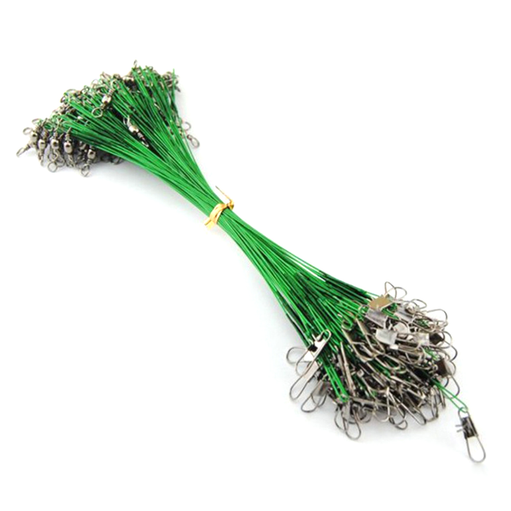 Cycle Zone Green Front Wires Pike Card Swivels Safety Snap Fishing Cable Wiring Zones Lures Hook Extension Cord New In Tools From Sports Entertainment On
