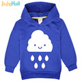 Jiuhehall Children's Spring Clothing For Kids Cartoon Black & White Cloud Kids Clothes Long Sleeve Boy Girl Hoodies FCM072
