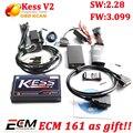 Hot 3.099 OBD2 Ferramenta de Ajuste Chip de KESS V2 Firmware V2.28 kess v2 ecu programador com software livre ecm titanium kessv2 3.099