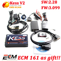 Hot V2.28 KESS V2 Firmware 3.099 OBD2 Chip Tuning Tool KESS V2 ecu programmer with free ECM titanium software kessv2 3.099
