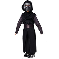 Boys Deluxe Star Wars The Force Awakens Kylo Ren Classic Cosplay Clothing Kids Halloween Movie Costume