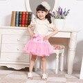 Мода девушки юбки девушки детей детское пушистые Petti юбки детская одежда
