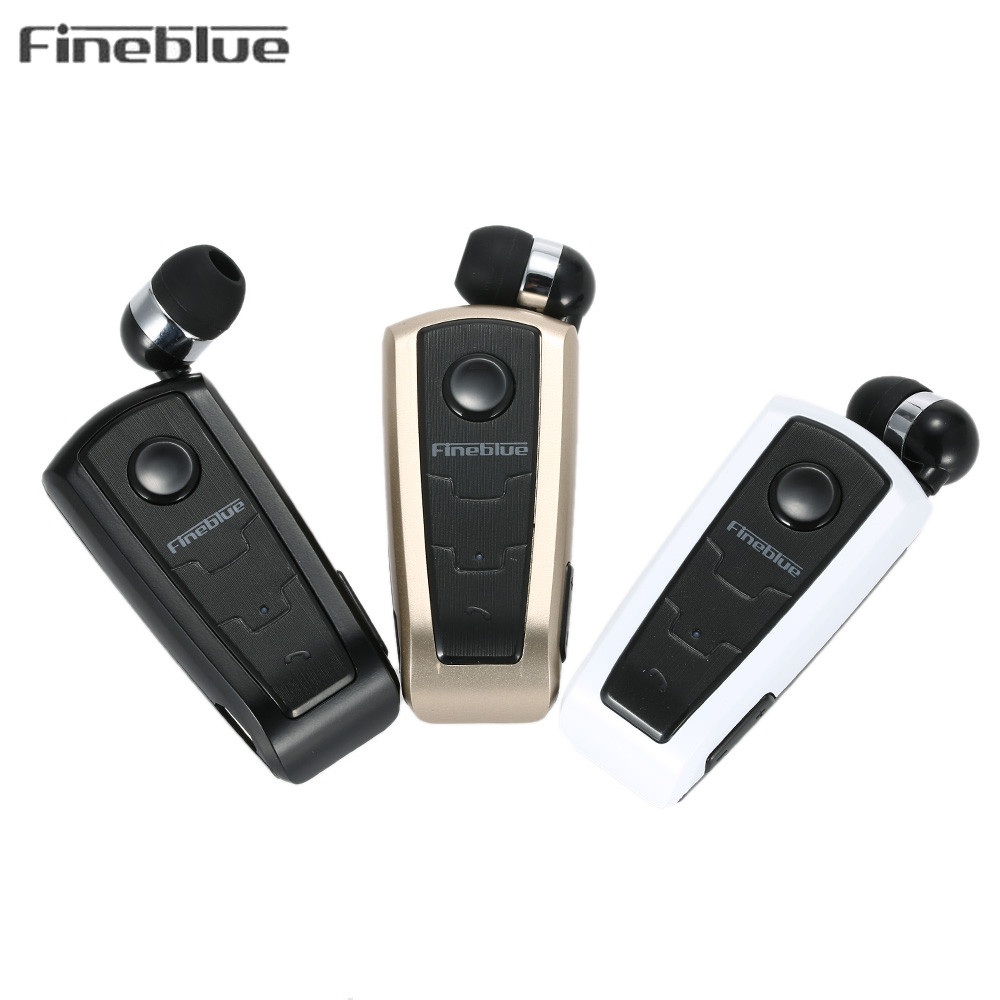 חם מקורי Fineblue F910 אוזניות אלחוטיות אוזניות באוזן התראת רטט תלבש קליפ אוזניות Bluetooth עבור טלפון