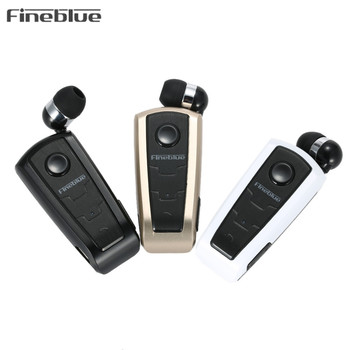 Sıcak Orijinal Fineblue F910 kablosuz Bluetooth Kulaklık Kulaklık Kulak Titreşimli Uyarı Aşınma Klip Telefon Için Bluetooth Kulaklık