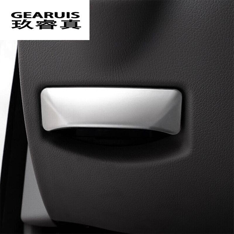 Carro-styling O pé de liberação do freio interruptor decoração de aço inoxidável Adesivos para Mercedes Benz classe E W212 Classe C W204 GLK