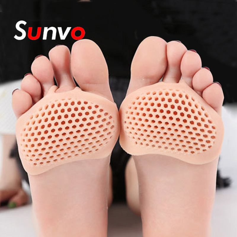 Insoles Silicone Gel Forefoot Invisible Anti-slip High Heeled Shoes Pads Half Yard Pad For Women Wholesale Dropshipping Inserts