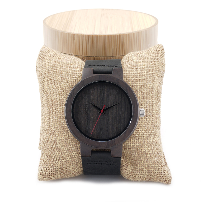 BOBO BIRD C22 Wooden Watch Men Brand Designer Luxury Leather Band Wood Watches for Men Quartz Watches Women in Gift Box bobo bird luxury bamboo wood men watch with engrave flower bamboo band quartz casual women watch full wooden watch in gift box