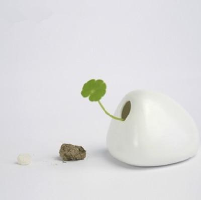 Desktop имитация камня керамическая ваза украшения ручной работы керамический небольшое пространство домашнего декора