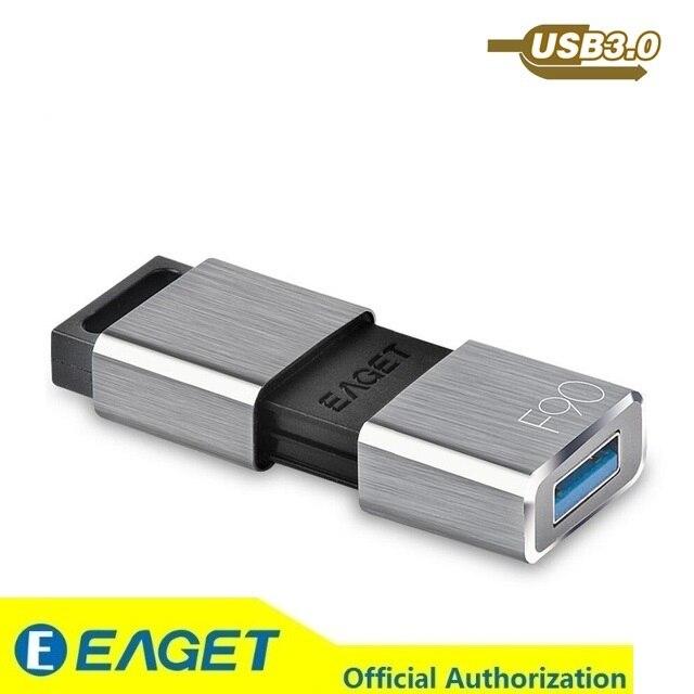 Eaget F90 USB3 0 Flash Drive 256GB 128GB 64GB 32GB 16GB Pendrive Water Resistant Pen Drive