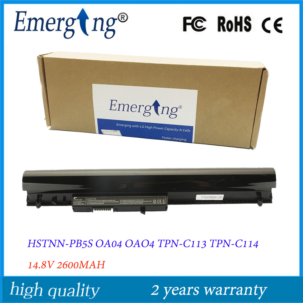 14.4V New Japanese Cell Laptop Battery for HP OA04 240 246 G3 CQ14 CQ15 G2 G3 HSTNN-LB5S Pavilion 14 R020 R024 TU TPN-C116(China)