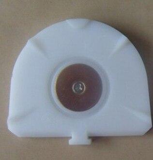 100Pcs Dental Amann Girrbach Pindex Dentalplatte mit Edelstahlblech, Modellmaterial für Dentallabor