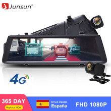 Junsun A900P ADAS Car DVR Camera 4G Android Video Recorder Dual Lens FHD 1080P GPS Navigation Dashcam Car Rearview Mirror DVRS(China)