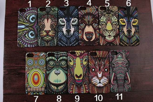 online retailer 96ece 82c6a US $2.6 |Brand Animals Lion Wolf Owl For iPhone 7 Plus Case Embossed Feel  Luminous Case For iPhone 7 Glow In Dark Hard Back Phone Cover-in Fitted ...