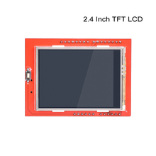 Buy online 1pc LCD module TFT 2.4 inch TFT LCD screen for Arduino UNO R3 Board and support mega 2560 lcd display