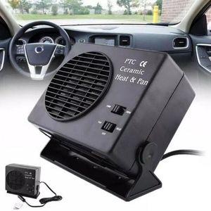Image 2 - Araba Için Mini Klima 12V Araba Taşınabilir 2 in 1 Elektrikli Fan ve Isıtıcı 300W Buz Çözücü Demister hızlı Isıtma Hızı