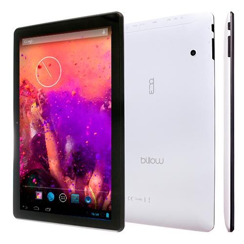 Tablet Billow 10.1 LCD HD IPS 1280x800 Quad Core 1.2 GHz 8 GB 1 GB Ddr3 WiFi Android 7.1 Double Camara White Color Bat 4000