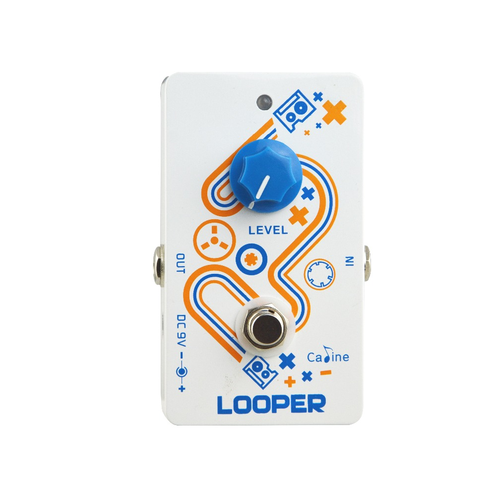 Caline CP 33 Looper Guitar Pedal True Bypass design High quality Recording Looper Guitar Pedals Guitar