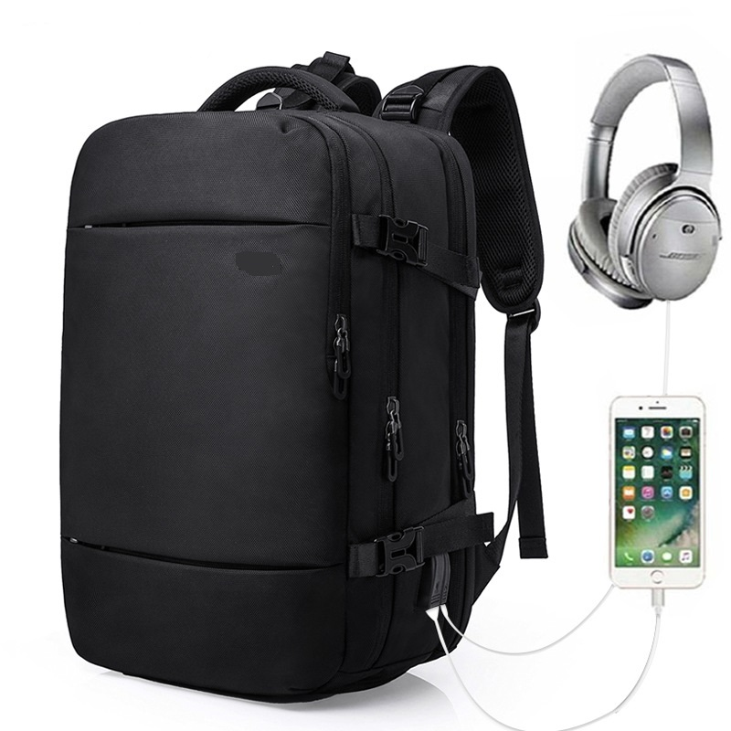 New Kenneth Cole Tech All-In-One Travel Business Black 17 ... |Business Tech Backpack