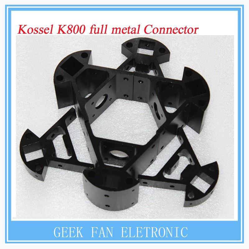 Kossel Full Metal 3D Aleación De Aluminio Negro Delta Conjunto Grandes Y Pequeña