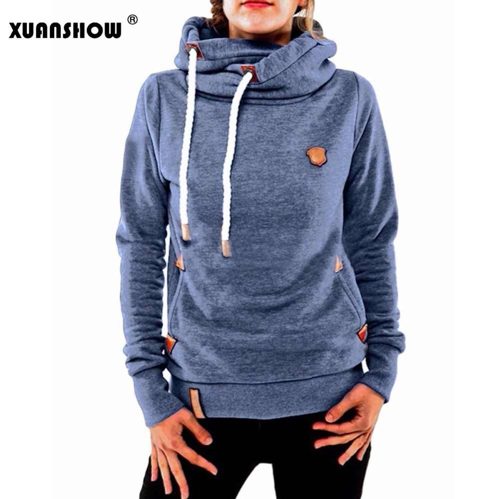 bbaef2d994039 ... XUANSHOW Lady's Hoodies 2018 New Fashion Winter Women's Hoody Long  Sleeve Keep Warm Hooded Female Tops ...