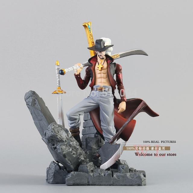 Anime One Piece Dracule Mihawk PVC Action Figure Collection Toy