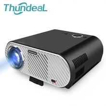 ThundeaL GP90 GP90UP 3200 Lumen LED Proyector LCD Android WIFI Jugador proyector de Sala de Reuniones de 720 P para Cine En Casa HDMI VGA AV USB