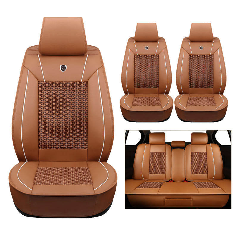 Outstanding Us 95 6 60 Off High Quality Leather Silk Car Seat Covers For Jaguar All Models Xf Xe Xj F Pace F Type Brand Firm Soft Cars Accessories In Theyellowbook Wood Chair Design Ideas Theyellowbookinfo