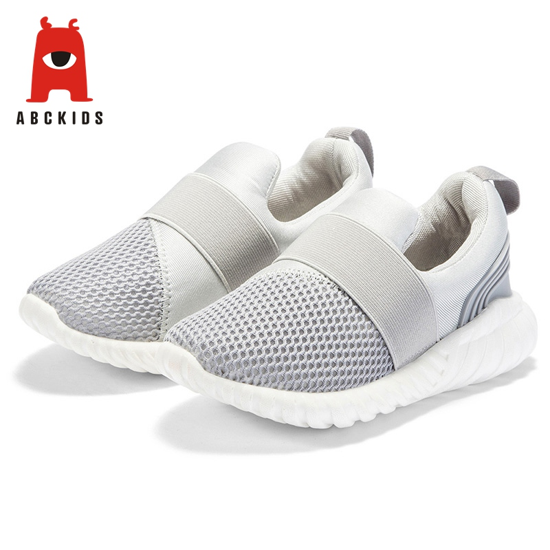 ABC KIDS 2019 Outdoor Running Sport Shoes Spring Summer Grey Mesh Breathable Sneakers Sneakers     - title=