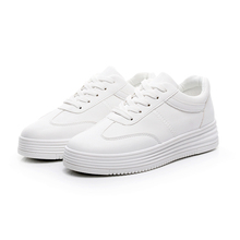White Women Walking Shoes Female Breathable Sneakers Girls Trekking Shoes Lace-up Shoes for Ourdoor Tmallfs Sapato Feminino
