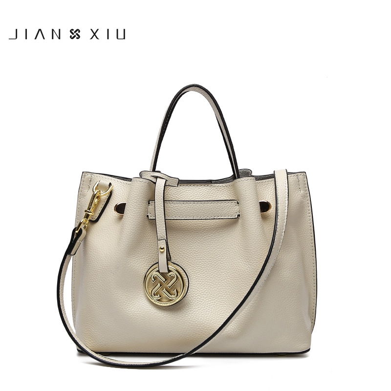 JIANXIU Genuine Leather Luxury Ladies Handbags Women Bags Designer 2017 Shoulder Messenger Bag Handbag Crossbody Bags for Women 2017 women leather handbag of brands women messenger bags cross body ladies shoulder bag luxury handbags designer s 83