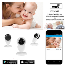 Full HD 720P Wifi IP Camera CCTV Wireless Cube IP Camera with IR CUT Night Vision Two way audio and motion detection
