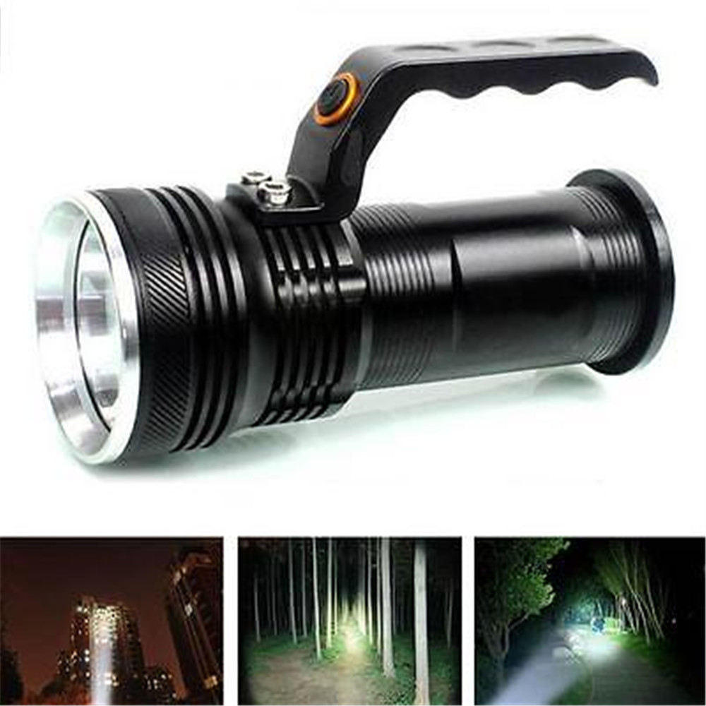 XM-L 3000LM Rechargeable Police Tactical LED Flashlight Torch Handheld police pl 12921jsb 02m