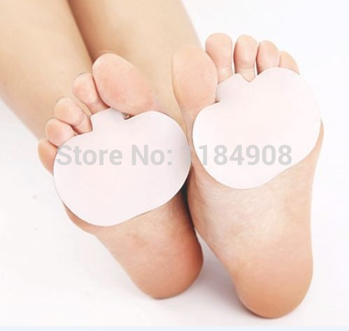 2 pcs Silicone Toe Bunion Hallux Valgus Feet Care Regulator Finger Toes Thumb Hole Protectors Set Top Quality(China (Mainland))