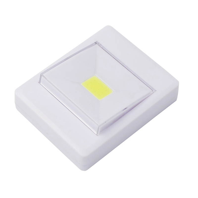 Ultra Bright Magnetic Mini COB LED Wall Light Night Lights Camp Lamp Battery Operated wi ...