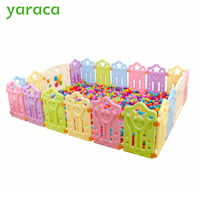 yaraca Kids Play Fence Indoor Baby Playpens Outdoor Children Activity Gear Environmental Protection EP Safety Play Yard