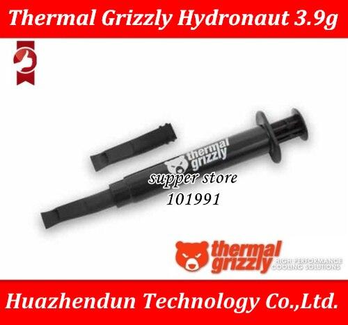 Thermique Grizzly Hydronaut 3.9g PC carte graphique CPU GPU refroidissement liquide métal thermique composé refroidisseur ventilateur thermique graisse/pâte