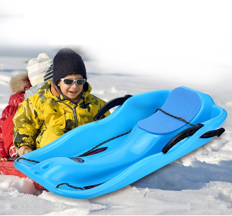Ski Sand Skiing Play with snow toys Brake with pull rope Anti freezing and abrasion resistance