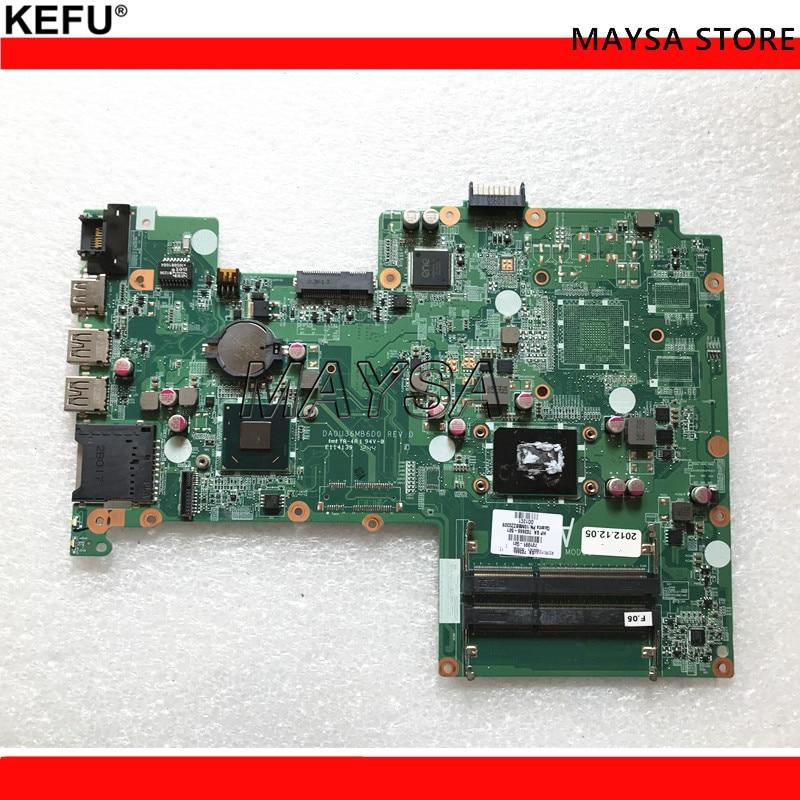 701691-501 (701691-001 ) DA0U36MB6D0 REV :D LAPTOP MOTHERBOARD FOR HP PAVILION SLEEKBOOK 15 NOTEBOOK PC kefu stock free shipping 734826 501 da0u93mb6d0 rev d laptop motherboard for hp pavilion 15 n notebook pc