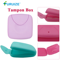 Portable Tampons Box Health Care Sanitary Napkin Tampons Storage Swab tampon box Portable Travel carry vagina tampons In Stock недорого