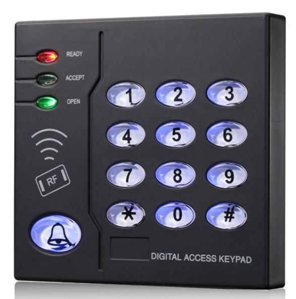 125KHZ RFID card reader WG Door locker with keypad IP65 waterproof access control tool security solutions high quality drawer locker mini size with id card reader