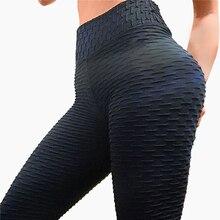 NORMOV Fitness Women Leggings High Waist Elastic Push Up Workout Legging Solid Breathable Female Plus Size