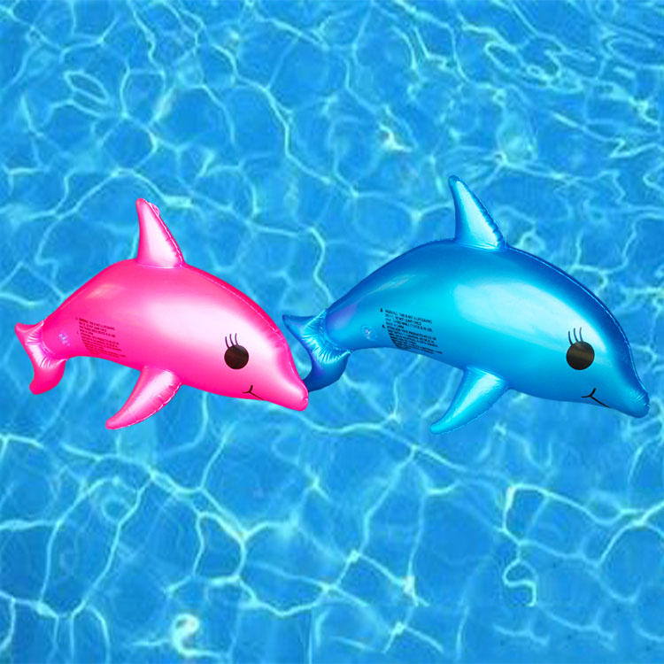 55cm Inflatable Fish/Dolphin/Shark Model Toys for Kids Gifts Pool Accessories Sea Theme Animals Balloons Birthday Party Supplies