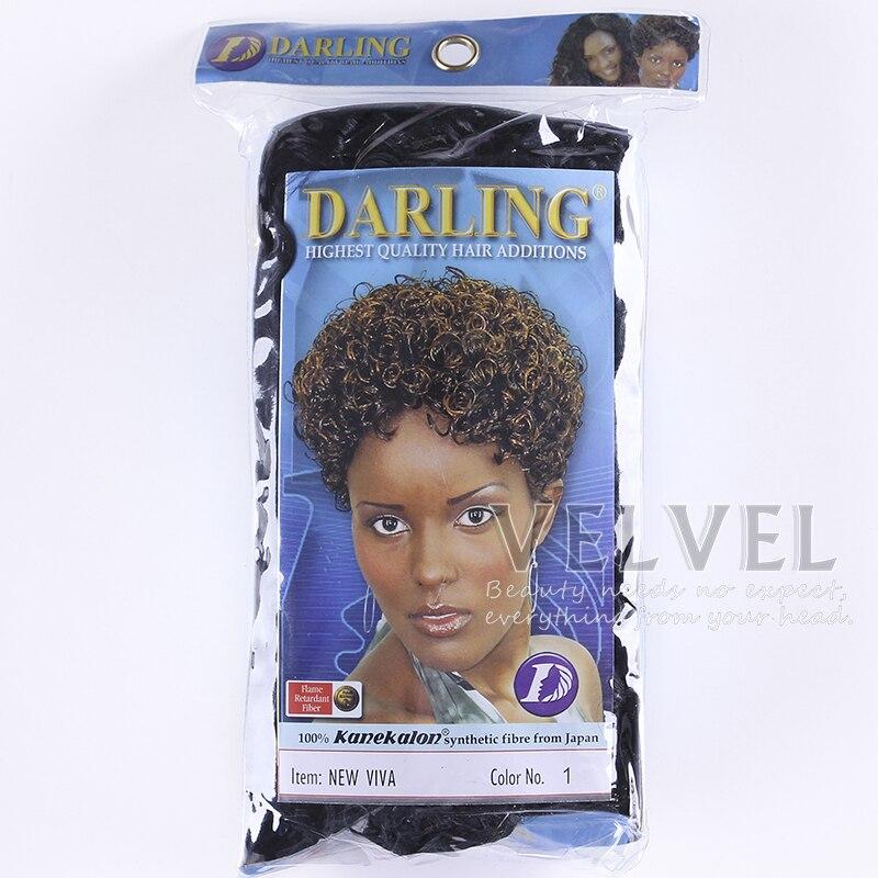 1pcfree Shipping Darling 100 Kanekalon Fiber New Viva Afro Hair